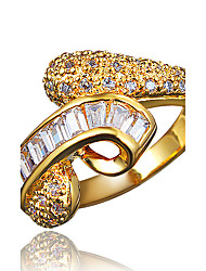 Classical Statement Ring for Women with Zircon