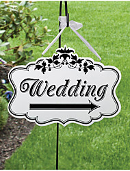 Wooden festival party wedding creative sign Creative wedding Wooden bridal