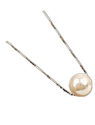 Necklace Pearl Strands Jewelry Wedding / Party / Daily / Casual Basic Design Pearl Women 1pc Gift Silver