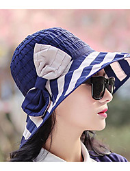 Chapeau de soleil Automne / Hiver Décontracté Coton Femme
