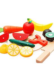 Brinquedos de Faz de Conta Brinquedos Novidades Madeira Arco-Íris