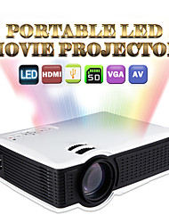 Owlenz SD50Plus LCD Proyector de Home Cinema WVGA (800x480) 1500 LED 1.32:1