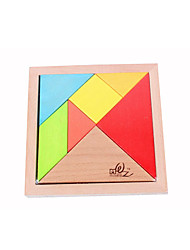 For Gift  Building Blocks Wood Rainbow Toys