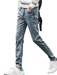 Hommes Grandes Tailles Droite / Mince Jeans / Chino Pantalon,Vintage / Mignon / Street ChicDécontracté / Quotidien / Soirée / Cocktail /