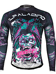 Ilpaladin Sport Men Long Sleeve Cycling Jerseys  CX720