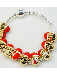 Bracelet Bracelets de rive Alliage / Cuivre / Plaqué or Others Mode / Personnalisé Quotidien / Décontracté Bijoux Cadeau Doré,1pc