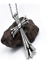 Necklace Jewelry Daily / Casual Dangling Style / Animal Design Titanium Steel Men 1pc Gift Silver