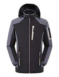 Men Outdoor Sports Soft Shell Jacket Hiking Cimbing Clothing Jackets Spring Casual Jacket Waterproof Coat  Fashion Overcoat
