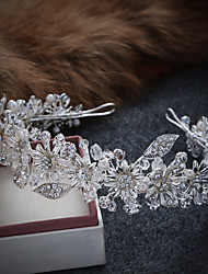 Women's Alloy / Imitation Pearl Headpiece-Wedding / Special Occasion / Casual Tiaras / Headbands / Wreaths 1 Piece
