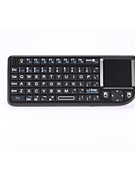 Multimedia keyboard Wireless Keyboard with Mouse Touchpad  for Android TV Box/PC/IPTV