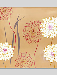 Oil Paintings Flower Style  Canvas Material with Stretched Frame Ready To Hang SIZE60*90CM.