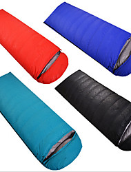 Sleeping Bag Mummy Bag Single 10 Down 1000g 180X30 Hiking / Camping / Traveling Rain-Proof / Foldable / Portable / Sealed OEM