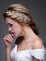 Women's Rhinestone / Alloy Headpiece-Wedding / Special Occasion / Casual / OutdoorHeadbands / Hair Combs / Flowers / Hair Stick / Hair