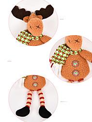 Decorações Natalinas Ternos de Papai Noel Elk Boneco de neve