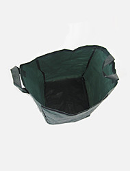 Cylindrical Dark Green Leaf Bag Capacity 250L