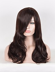 Soft Hair Sexy Fashion Long Wave Lady's Synthetic Hair Wig Cheap High Quality Heat Resistant High Temperature Dialy Wearing Party Wig