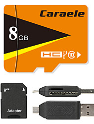 Caraele 8Go TF carte Micro SD Card carte mémoire UHS-I U1 Class10