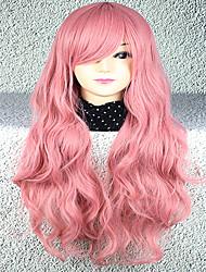 Lolita Wigs Sweet Lolita Lolita Curly Pink Lolita Wig 75 CM Cosplay Wigs Wig For Women