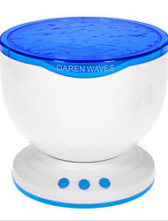 NEJE Ocean Wave Projector Lamp with MP3 Speaker / LED Night Light