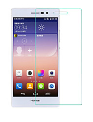 beittal® 0.26mm borde redondeado 9h transparente protector de pantalla de membrana de vidrio templado para p7 ascender huawei