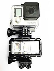 Accessori per GoPro,LED Spot LED Impermeabile Conveniente Regolabile Multi-funzione, Per-Action cam,Tutti AltroUniversali Sub e