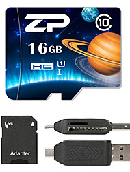 ZP 16GB Micro SD card Class 10 80 OtherMultiple in one card reader Micro sd card reader SD card reader CF card reader Memory stick reader
