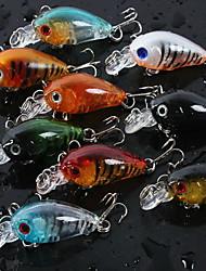 """1 pcs Poissons nageur/Leurre dur leurres de pêche Poissons nageur/Leurre dur Couleurs assorties 4 g/1/6 5/8 Once mm/1-3/4"""" pouce,"""