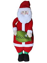 Spielzeug für Weihnachten Geschenktaschen Urlaubszubehör Weihnachten Gewebe Rot