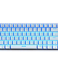 Mechanical keyboard / Gaming keyboard USB Black axis RGB backlit Ajiazz