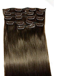 22 #2 Remy Hair Extension Type Human Hair Extensions Material Style Unit Weight(80g)
