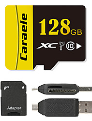 Caraele 128GB Micro SD card Class 10 80 OtherMultiple in one card reader Micro sd card reader SD card reader CF card reader Memory stick reader