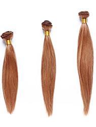 méchés Cheveux Indiens Yaki 12 mois 3 Pièces tissages de cheveux