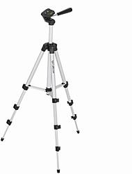 caméra noir trépied photographie quatre sections en alliage d'aluminium stents appareil photo reflex numérique trépied