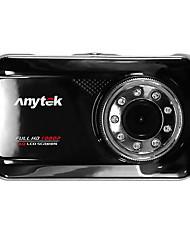 Anytek X5 novatek 96220 720p / 1080p DVR Car 3polegadas Tela traço Cam
