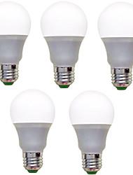 9W E26/E27 Lampadine globo LED A60(A19) 12 SMD 2835 850 lm Bianco caldo Luce fredda Decorativo AC 220-240 V 5 pezzi