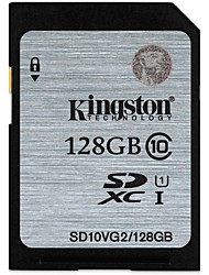 Kingston 128GB carte SD carte mémoire UHS-I U1 Class10