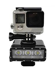 Accessoires pour GoPro Spot LED Etanches, Pour-Caméra d'action,Xiaomi Camera Autres Gopro Hero 4 Silver Gopro Hero 4 SessionUniversel