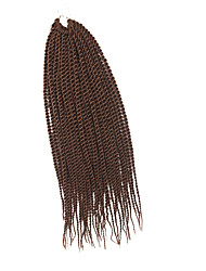 Sénégal Tresses Twist Extensions de cheveux 20Inch Kanekalon 35 Strands (Recommended By 3 Packs for a Full Head) Brin 98g grammeBraids