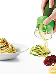1Pcs Hand-Held Grater Shred Vegetables Device Spiral Wire Cutting Mechanism In The Kitchen