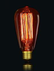 st64 13 ак 40w лампы накаливания лампочки шелк античный Эдисона лампочки