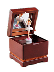 Music Box Castle in the Sky Wood Brown For Boys / For Girls