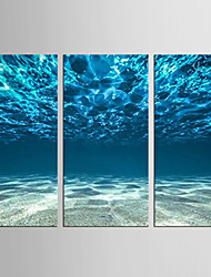Canvas Set Abstract Landscape Modern Mediterranean,Three Panels Canvas Vertical Print Wall Decor For Home Decoration