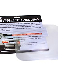 ZIQIAO Wide Angle Fresnel Lens Car Parking Reversing Sticker Useful Enlarge View Angleoptical Fresnel Lens
