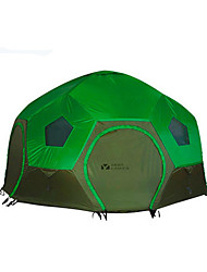 MOBI GARDEN 3-4 persons Tent Double Camping Tent Automatic Tent Keep Warm Waterproof Portable Windproof Ultraviolet Resistant Rain-Proof