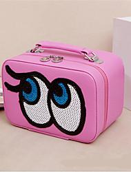 sac de bonbons couleur de maquillage des yeux dames boîte cosmétiques Voyage portable package de consolidation de stockage de lavage