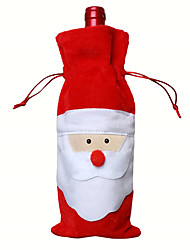 Christmas Toys / Gift Bags Holiday Supplies Santa Suits Textile Red All