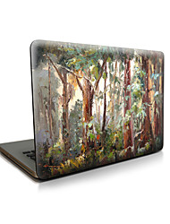 pour macbook air 11 13 / pro13 15 / pro avec retina13 15 / macbook12 grimoire cas forêt apple portable