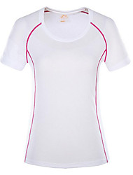 Women's Short Sleeve Running T-shirt Tops Breathable Quick Dry Wearable Comfortable Summer Sports WearExercise & Fitness Racing