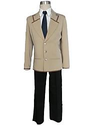 Angel Beats Anime Cosplay Costumes Coat / Shirt / Tie / Pants / Belt Male