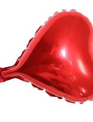 Balloons Holiday Supplies Heart-Shaped Rubber Red For Boys / For Girls 2 to 4 Years / 5 to 7 Years / 8 to 13 Years